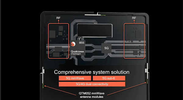 Snapdragon 855 with 5G connectivity