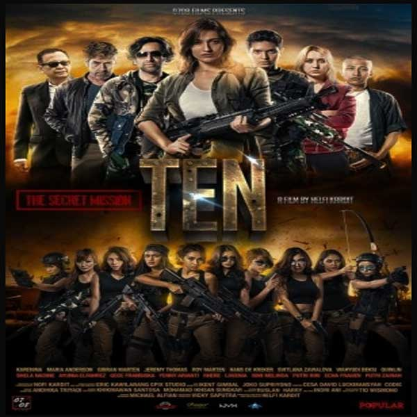 Ten: The Secret Mission, Ten: The Secret Mission Synopsis, Ten: The Secret Mission Trailer, Ten: The Secret Mission Review, Poster Ten: The Secret Mission