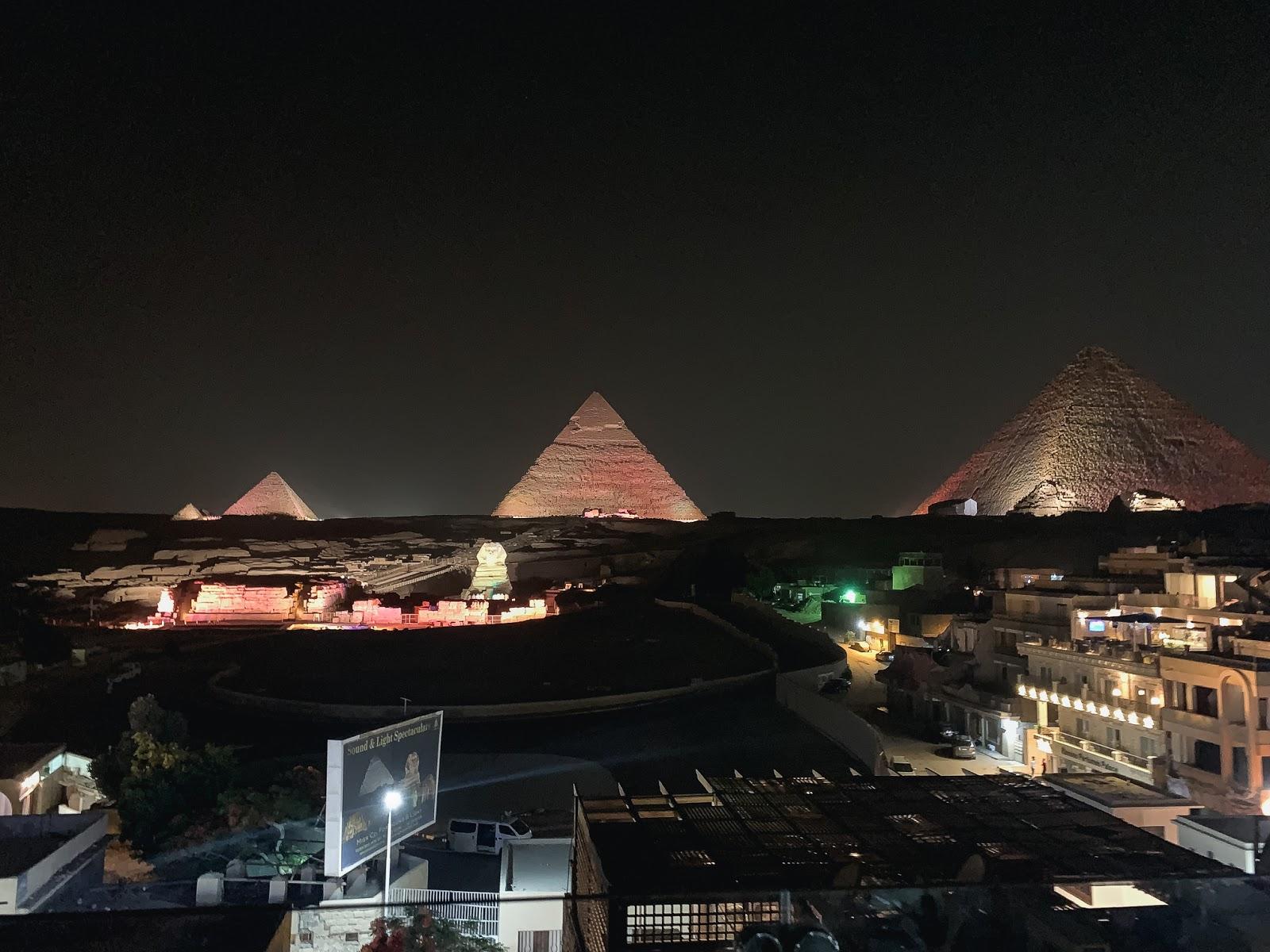 lightshow pyramids