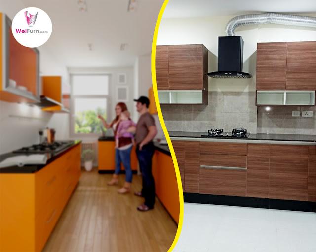 Kitchen interior in Bangalore