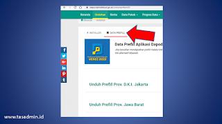 Download Prefill Dapodik 2022