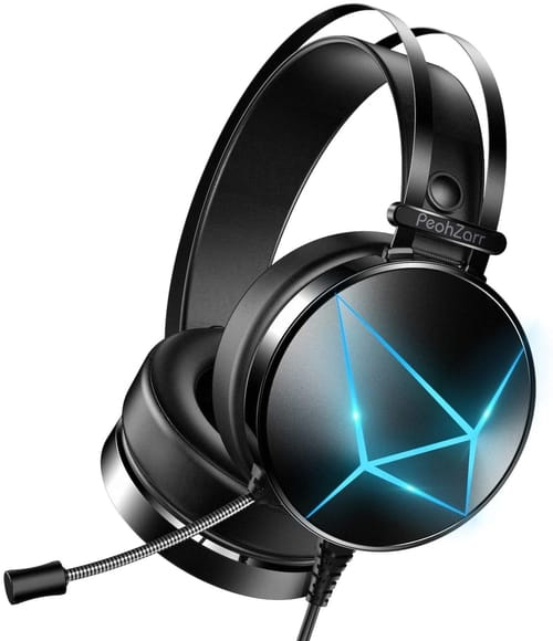 PeohZarr TH614S Xbox One Wired Over-Ear Headphones