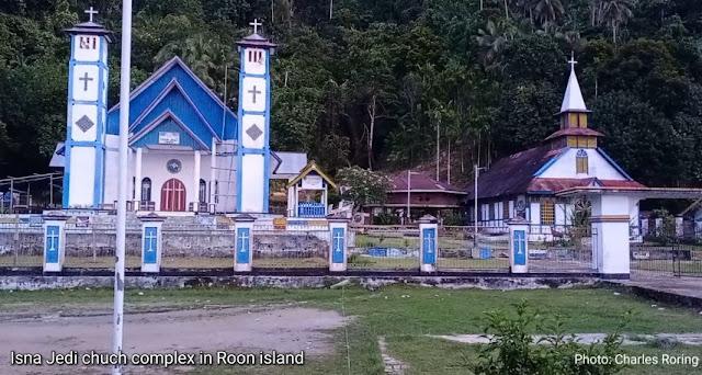 Bink and Van Balen missionary works in Roon island
