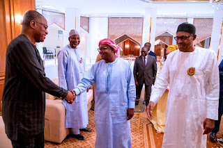 Buhari receives newly elected president of Guinea Bissau in Aso Villa (Photos)
