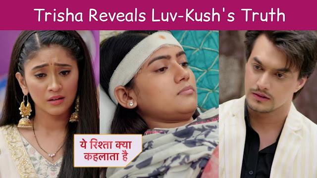 High Voltage Drama : Major showdown Naira slaps Luv Kush in Yeh Rishta Kya Kehlata Hai