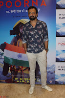 Bollywood celebs at the Screening of Movie Poorna 32.JPG