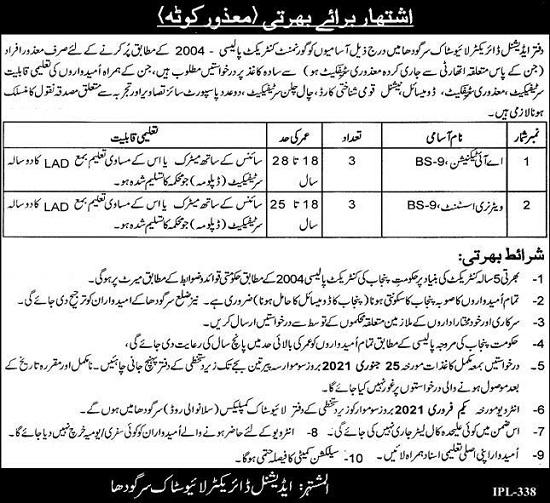 director-livestock-sargodha-jobs-2021-advertisement