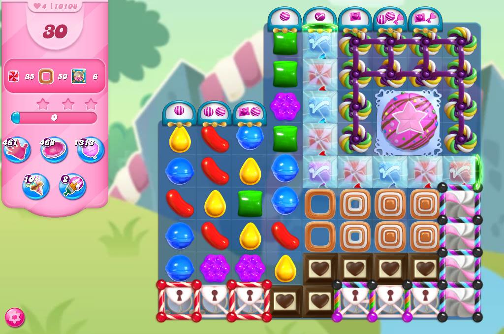 Candy Crush Saga level 10108