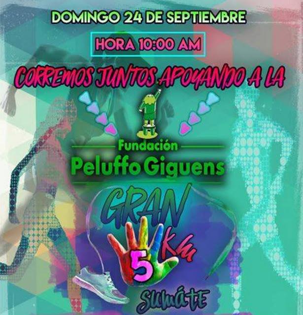 5k Corremos juntos por la Peluffo Giguens (parque Rodó de San José, 24/sep/2017)