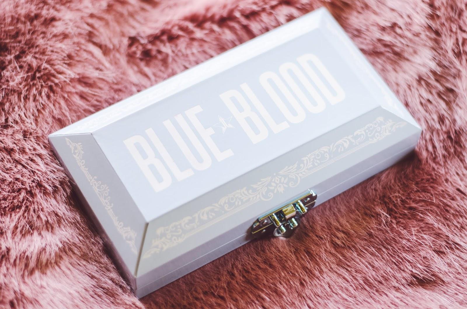 Jeffree Star Cosmetics Blue Blood Collection paleta očných tieňov
