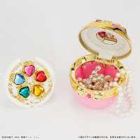 "Abierto pre-order de Heartful Harmony Jewelery Case de ""Sailor Moon"" - Premium Bandai"