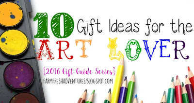 10 Gift Ideas for the Art Lover