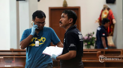 Ketum Ansor minta polisi usut tuntas penyerangan gereja