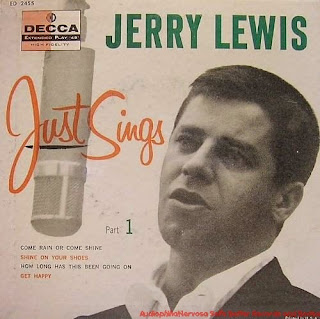 Jerry Lewis Jerry Just Sings Decca LP