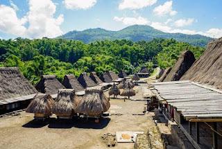 Kampung adat Bena NTT