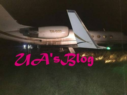 All Flights To Abuja Airport Cancelled After Plane Overshoots Runway (Photo)