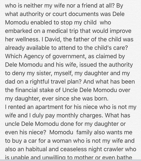 David and Sophia Momodu baby mama drama