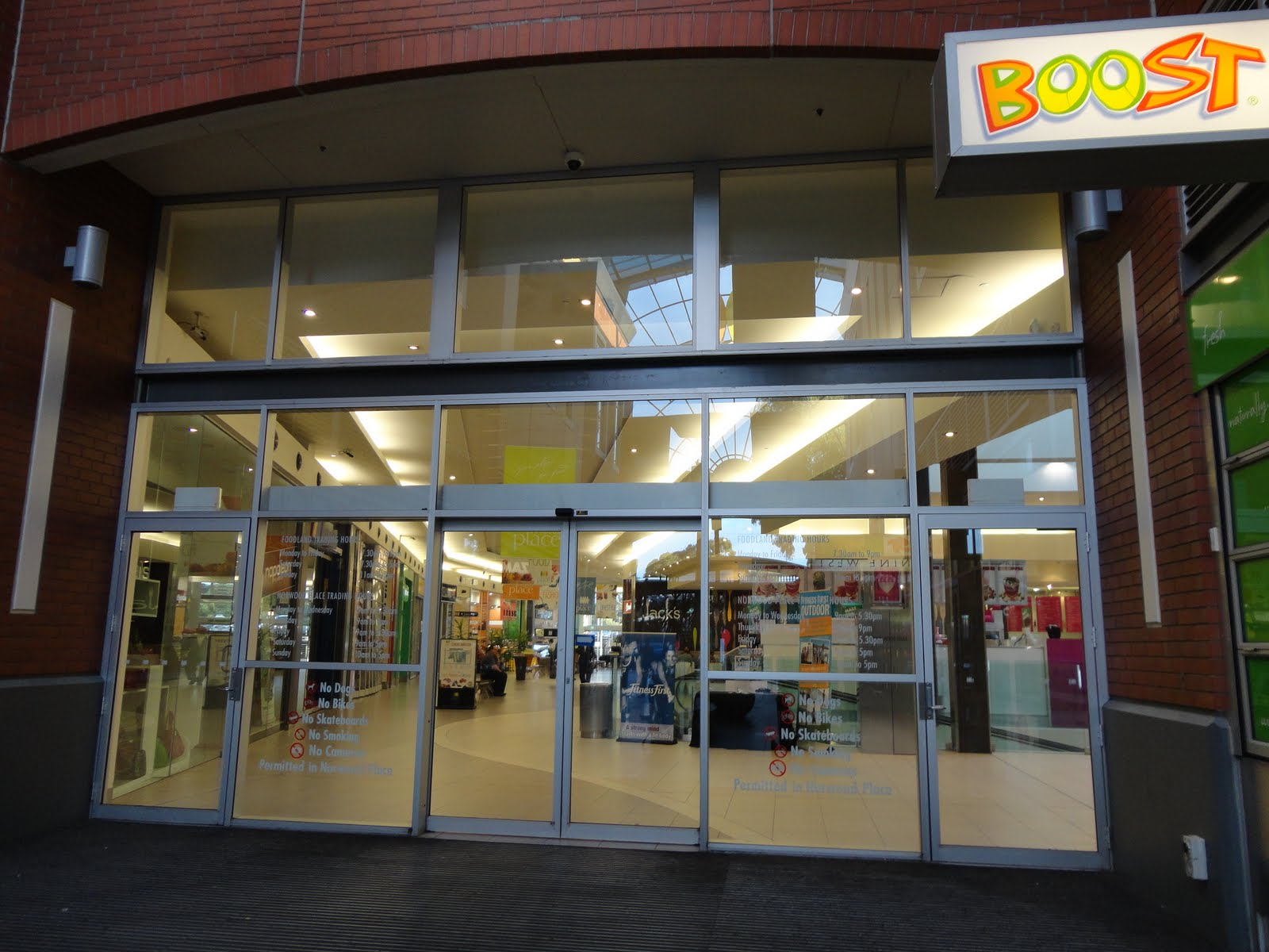 Norwood Shopping Centres - for Marie