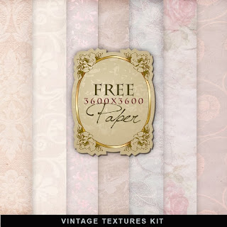 Freebies Old Style Papers Kit