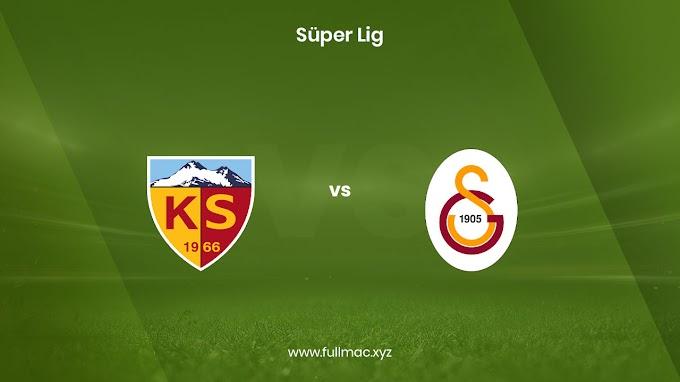 Kayserispor - Galatasaray | 13.03.2021 | Full HD izle