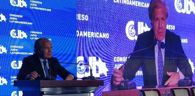 Almagro pide reunión urgente en la OEA por la crisis migratoria de Venezuela