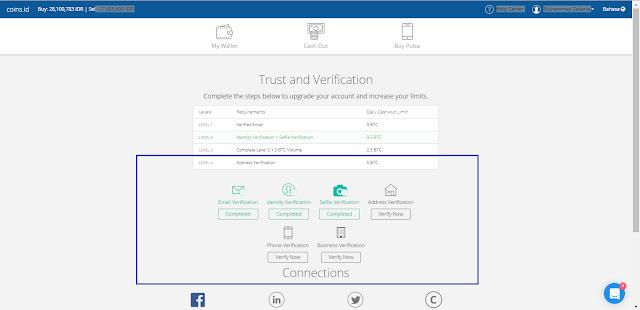 Akun yang diterima di App.coins.id terbaru 2017