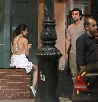 Mahira khan and Ranbir Kapoor pic from nyc