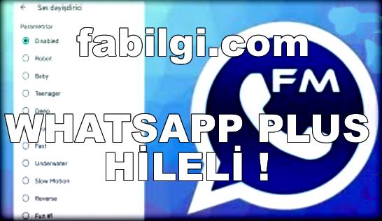 FM Whatsapp Plus Son Sürüm Apk İndir, Tanıtım 2021 Modlu
