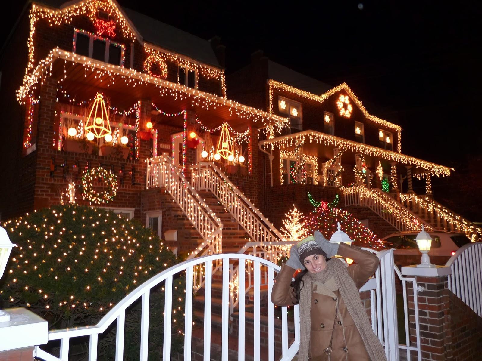 Viajar con grace la gran manzana en navidad ii parte - Casas decoradas en navidad ...