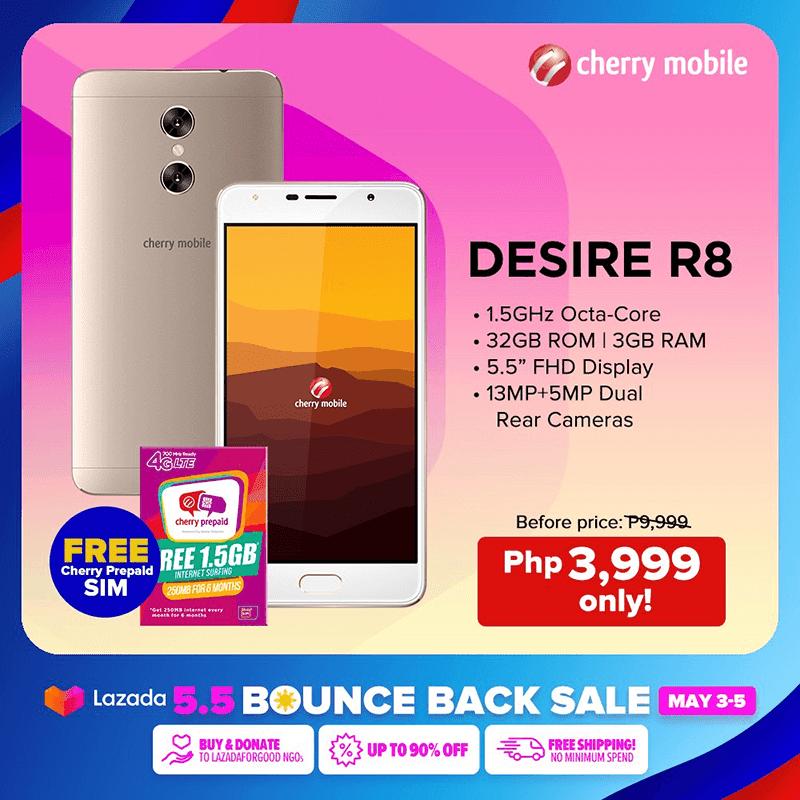 Cherry Mobile Desire R8