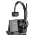 Along Came Poly with the Next Generation of Savi Wireless Headsets perfect for Office and Noisy Environments