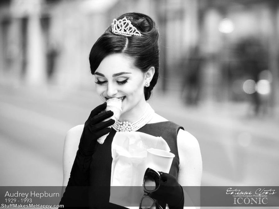 11. Audrey Hepburn