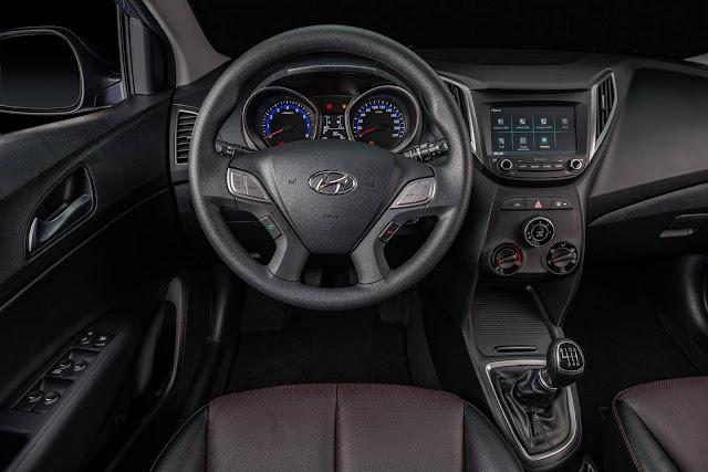 Hyundai HB20S 2017 Ocean - interior - painel