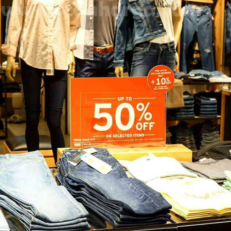 Promo Levi's END OF SEASON SALE UP TO 50% Off Periode 19 Juni - 26 Juli 2020 3