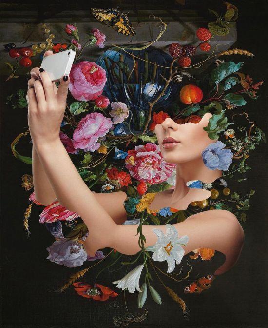 Dominic LaRiccia instagram arte photoshop colagens digitais foto manipulações psicodélicas coloridas surreais