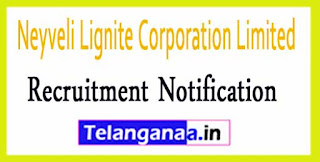 Neyveli Lignite Corporation Limited NLC Recruitment Notification 2017