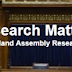 The Assembly Research and Information Service launches a new blog: Research Matters