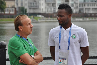 Rohr responds to Mourinho's comments on Mikel's playing position