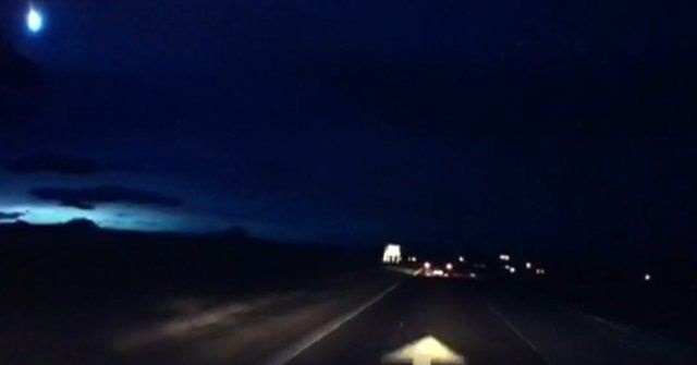 Fireball over Scotland on Feb. 29. Credit: Bill Jones / YouTube