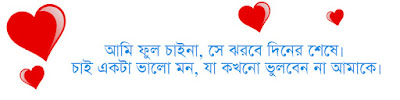 Bengali shayari for lover