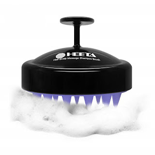 Heeta Silicone shampoo brush