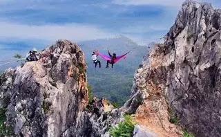 Tebing Gunung Hawu.