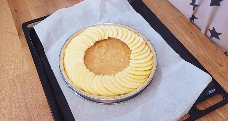 Former un cercle de pommes