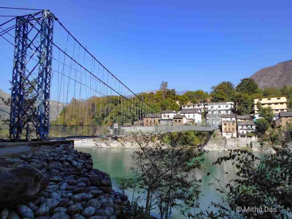 Dipayal footbridge