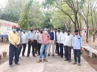 बिजली पारेषण कर्मचारी संघ महासंघ के प्रदेश महामंत्री का दो दिवसीय प्रवास किया