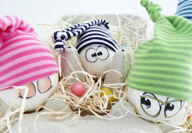 mit Strich und Faden: Eiermützen