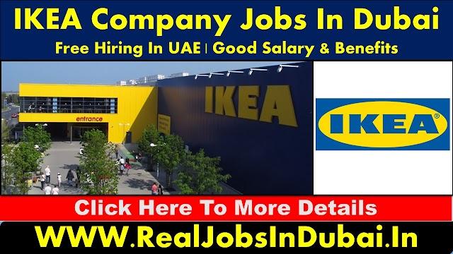 IKEA Company Jobs In Dubai - UAE