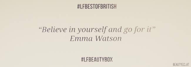 lookfantastic beauty box revue avis test