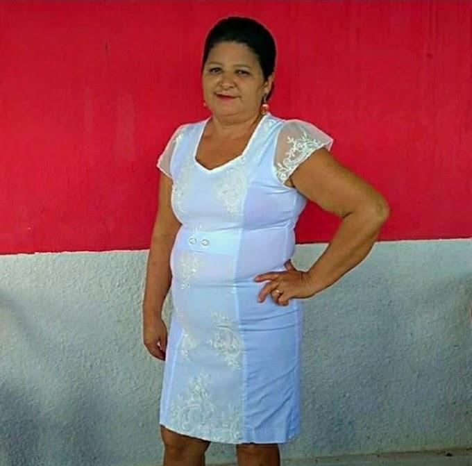 LUTO: Elesbonense Maria Olenir do povoado Capim Pubo morre aos 57 anos, devido a complicações causadas por um AVC.