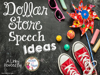 Speech Therapy Fun: Dollar Store Speech Ideas